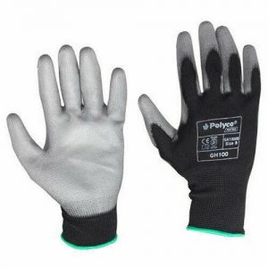 Polyco Matrix GH100 PU Palm Coated Gloves size 9 (Lge) pack of 12 FREE DELIVERY