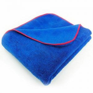Giant Microfibre Blue Miracle Dry towel 60cm x 90cm WORKSHOPPLUS FREE DELIVERY