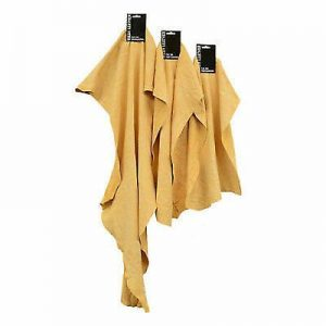 Small Premium Chamois Leather 2sq ft WORKSHOPPLUS FREE DELIVERY