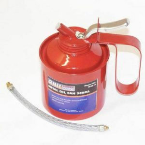 SEALEY OIL CAN 500ml COMPLETE WITH FLEXIBLE NOZZLE FREE DELIVERY SEALEY RODUCT