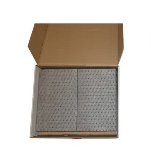 Universal Spill Kit Pads 40cm x 50cm Qty 50 WORKSHOPPLUS FREE DELIVERY
