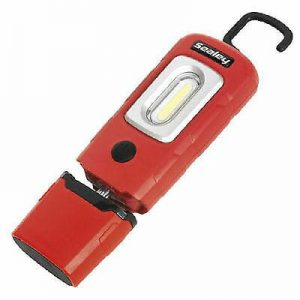 Sealey rechargable Cob type LED inspection lamp Red FREE DELIVERY