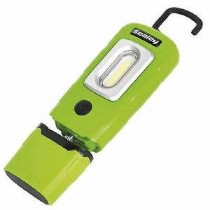 Sealey rechargable Cob type LED inspection lamp Green FREE DELIVERY