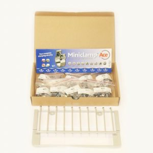 Ace Hose Mini Clip Rack With Assorted Clips - 100 Pieces FREE DELIVERY