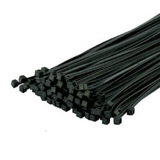 Black Cable Ties 2.5 x 100mm - 100 Pieces WORKSHOPPLUS FREE DELIVERY