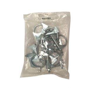 Exhaust Clamp 54mm - 10 Pieces WORKSHOPPLUS FREE DELIVERY