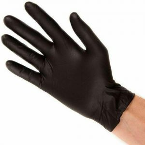Nitrile Gloves X Large Black Mamba - 10 pairs FREE DELIVERY