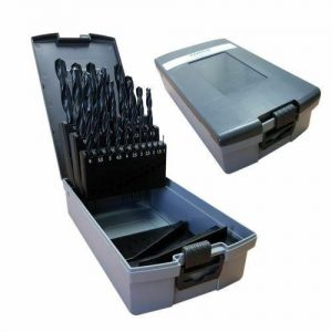 High Speed Steel Drill Bits Metric Set - 25 Pieces WORKSHOPPLUS FREE DELIVERY