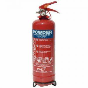 Fire Extinguisher 2kg Dry Powder WORKSHOPPLUS FREE DELIVERY