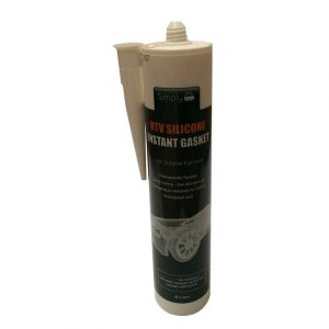 Rtv Silicone Instant Gasket Clear 310ml WORKSHOPPLUS FREE DELIVERY