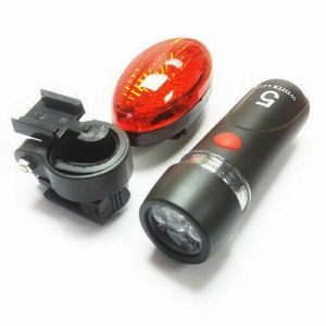 Bike Light Set 3 light settings 2pc COMPLETE WITH FREE DELIVERY