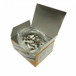 5 Amp Domestic Fuses - 100 Pieces COMPLETE WITH FREE DELIVERY