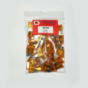 Standard Blade Fuses 5 Amp - 50 Pieces WORKSHOPPLUS FREE DELIVERY