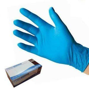 Blue Nitrile Gloves Large - 100 FREE DELIVERY