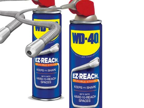 WD40 Flexible Straw system multi-purpose lubricant 400ml Pack of 2 FREE DELIVERY