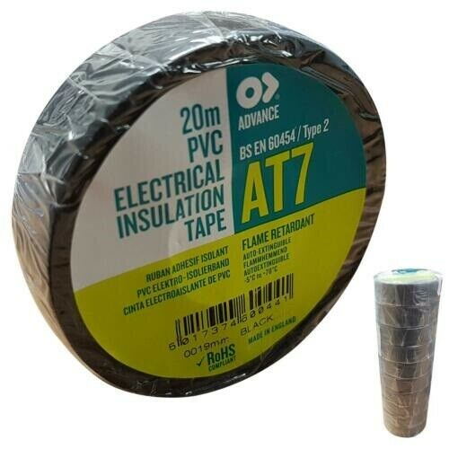 Advance PVC Tape 19mm x 20M 10 Pieces FREE DELIVERY