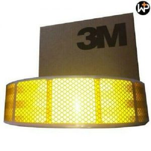 3M Amber ECE104 SEGMENTED TAPE 50M FREE DELIVERY