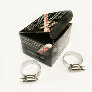 Hose And Pipe Clips 23-35mm - 10 Pieces WORKSHOPPLUS FREE DELIVERY