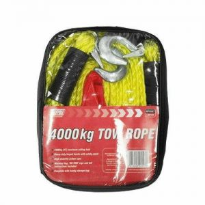 Towing Strap 4M 4000kg WORKSHOPPLUS FREE DELIVERY