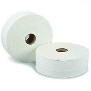 2 Ply Mini Jumbo Toilet Rolls - 12 Pieces FREE DELIVERY